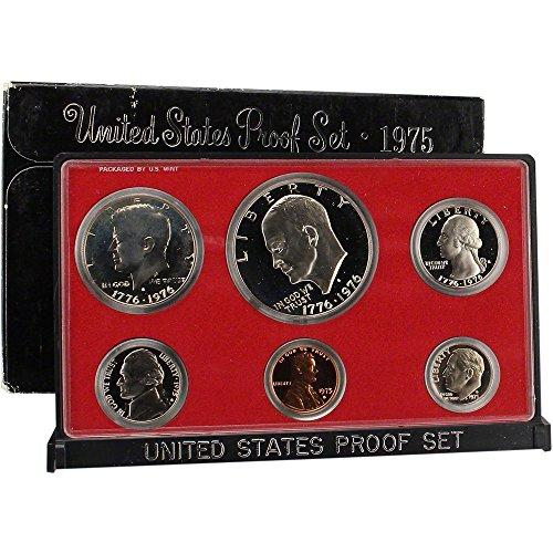 1975 S US Proof Set Superb Gem Uncirculated