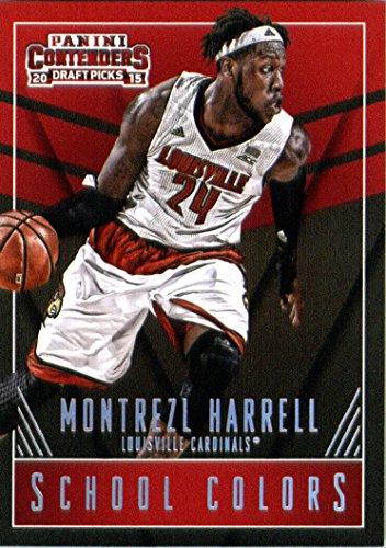 2015-16 Panini Contenders Draft Picks School Colors #30 Montrezl Harrell Basketball Card