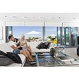 2-Way In-Wall In-Ceiling Speaker System - Dual 8