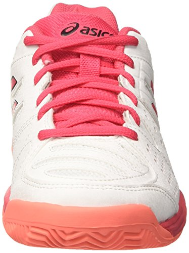 Asics Gel-Padel Pro 3 Sg, Chaussures de Tennis Femme Multicolore (White/rouge Red/flash Coral)