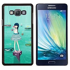 YiPhone /// Prima de resorte delgada de la cubierta del caso de Shell Armor - zvezdnyy arácnido zhuk arahnid - Samsung Galaxy A7 A7000