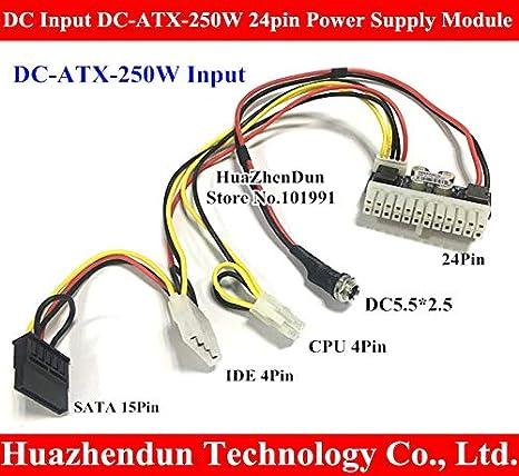 Clothing, Shoes & Accessories 50pcs Pci-e 6pin Input Dc-atx-250w 24pin Power Supply Module Swithc Pico Psu Car Auto Mini Itx High Dc-atx Power Module Itx Z1