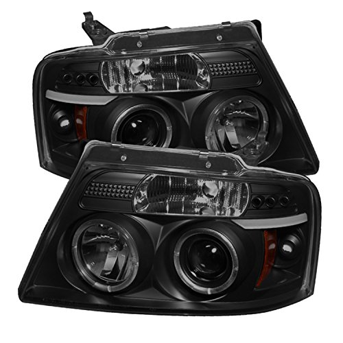 Spyder Auto PRO-YD-FF15004-HL-G2-BSM Ford LED Halo Projector Headlight ()