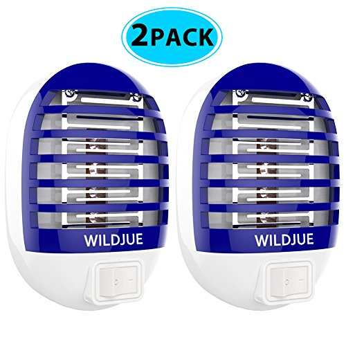 WILDJUE Bug Zapper, Insect Killer/Mosquito Killer Lamp,Eliminates Most Flying Pests Safe and portable by WILDJUE
