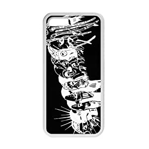 MMZ DIY PHONE CASERockband Modern Fashion Guitar hero and rock legend Phone Case for ipod touch 5(TPU)