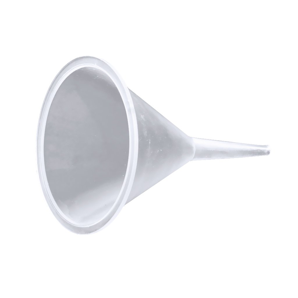 MonkeyJack Small Plastic Funnels for Filling Small Mini Bottles or Containers 40mm