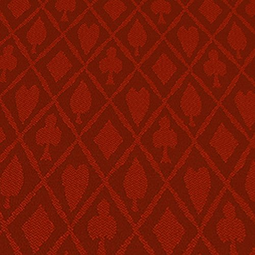 (Brybelly 10-Feet Red Polyester Suited Speed Cloth)