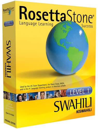 Rosetta Stone V2: Swahili Level 1 [OLD VERSION]