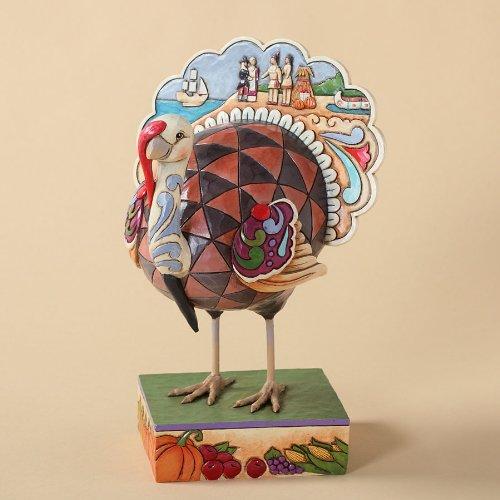 Enesco 4027802 Heartwood Turkey Figurine product image