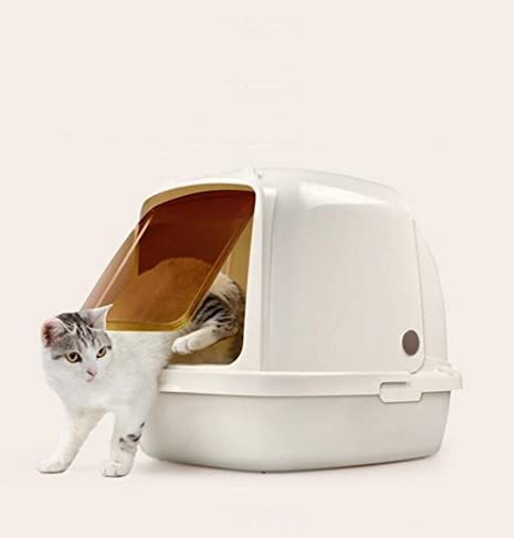 Pet Online La forma del oído del tocador del gato Linda estándar y caja completamente incluida