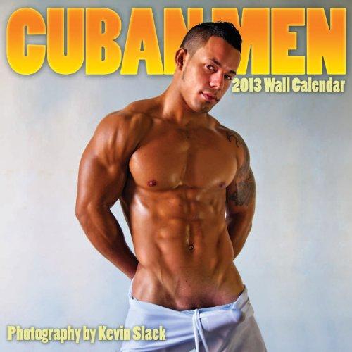 Cuban Men 2013 Wall Calendar