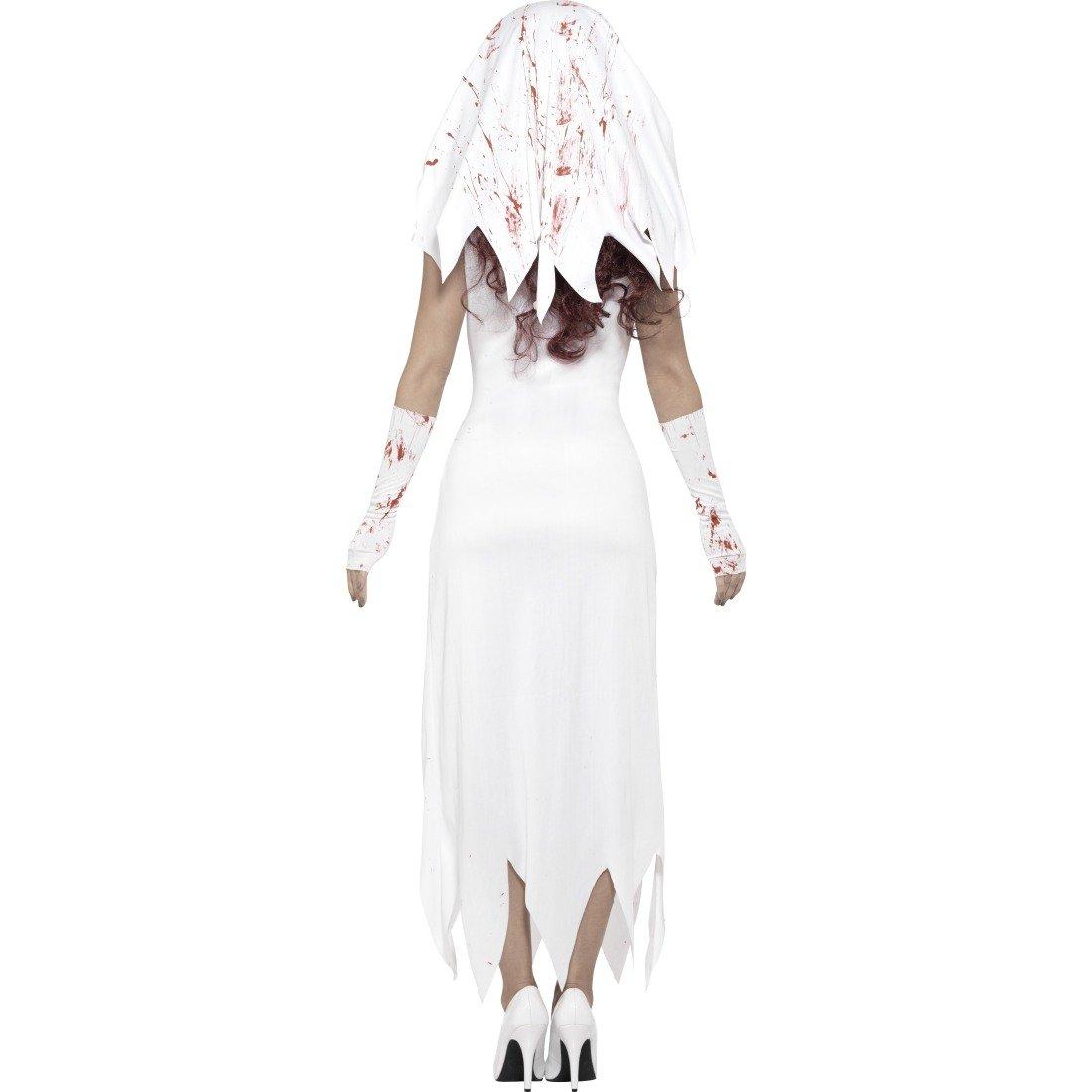 Halloweenkostüm Geisterbraut Zombie Damenkostüm Horror M 38-40