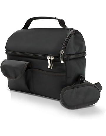 Spice Bolsa Térmica con correa de hombro de comedor Puerta hornillo capacidad 8 litros Doble Compartimento