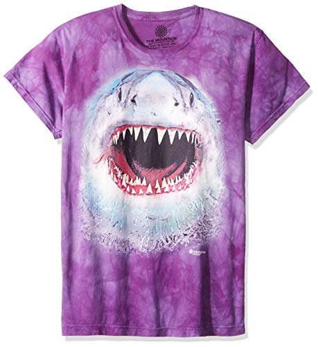 The Mountain Mens Wicked Nasty Shark Adult T-Shirt