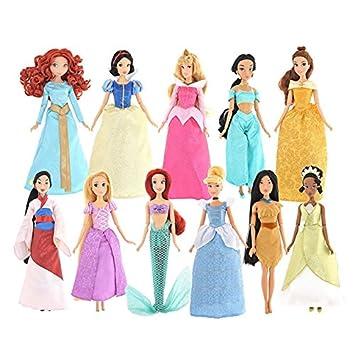 【 ディズニー 公式 】 デラックス ドール ギフト セット 11P ディズニープリンセス ( Disney 人形 プリンセス グッズ