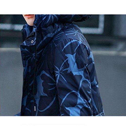 Slim coat Teens Hooded Down The Men's YANXH Winter New jacket orange xwfZT1wpqF