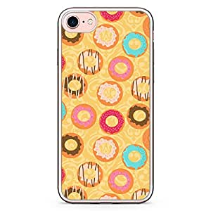 Loud Universe iPhone 8 Plus Transparent Edge Case - Bakery Donuts Sweets