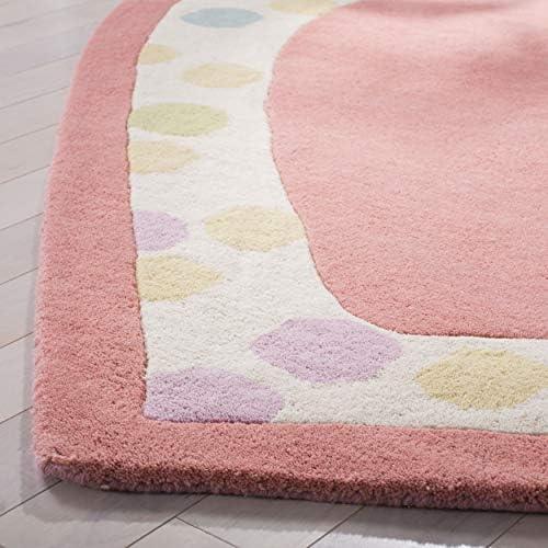 Safavieh Martha Stewart Collection MSR4561A Handmade Premium Wool Peony Area Rug 5'3″ x 6'