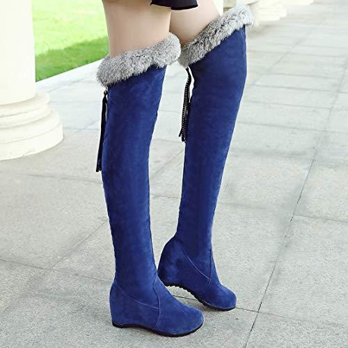 Stivali Classici Stivali Aiyoumei Blu Donna Aiyoumei Blu Aiyoumei Classici Classici Stivali Blu Donna Donna dXaZAq