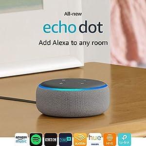 All-new Echo Dot (3rd Gen) – Smart speaker with Alexa