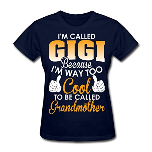 Grandmother Called Gigi Women's T-Shirt (navy) - Mall Boulevard The