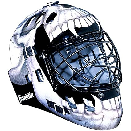 5c192d7d157 Buy Franklin Skull Roller Hockey Goalie Mask Online at Low Prices in India  - Amazon.in