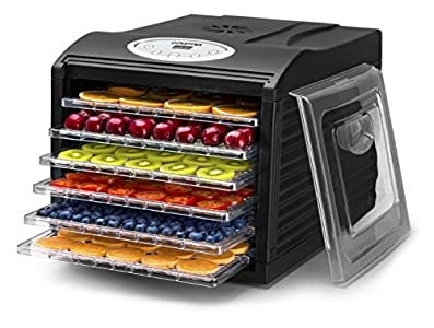 Gourmia GFD1650B Premium Countertop Food Dehydrator : The best way to get home made healthy snacks for the whole family!