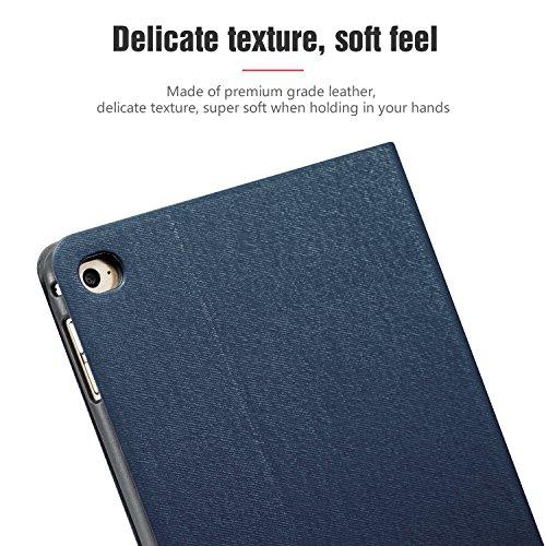 AUAUA iPad Mini 4 Case, iPad Mini 4 PU Leather Case with Smart Cover Auto Sleep/Wake +Screen Protector For Apple iPad Mini 4, 7.9 inch Apple Tablet (Mini 4, Brown) Photo #9