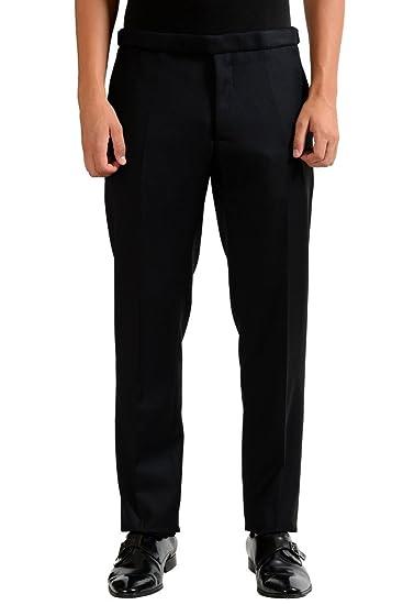 Christian Dior Mens 100 Wool Black Dress Pants At Amazon Mens