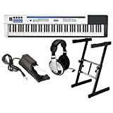 : Casio PX-5S Privia Pro Digital Stage Piano 88 Key Weighted Hammer Action with Stand, Sustain Pedal, and Headphones