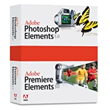 Adobe Photoshop Elements 5.0 Premiere Elements 3.0 Bundle [OLD VERSION]