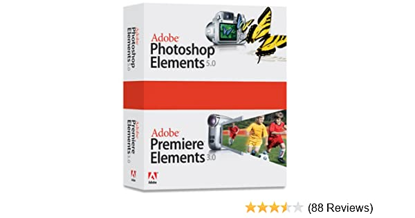 Amazon.com: Adobe Photoshop Elements 5.0 Premiere Elements 3.0 ...