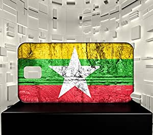 Funda Carcasa para Galaxy Note 3 Bandera BIRMANIA 07