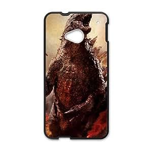 Godzilla HTC One M7 Cell Phone Case Black IJB