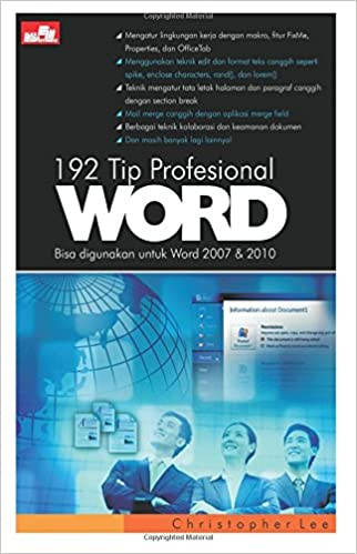 192 Tip Profesional Word Indonesian Edition Christopher Lee
