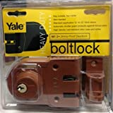 Yale Security V197 1-4 Jimmy Proof Double Cylinder Deadlock by Yale