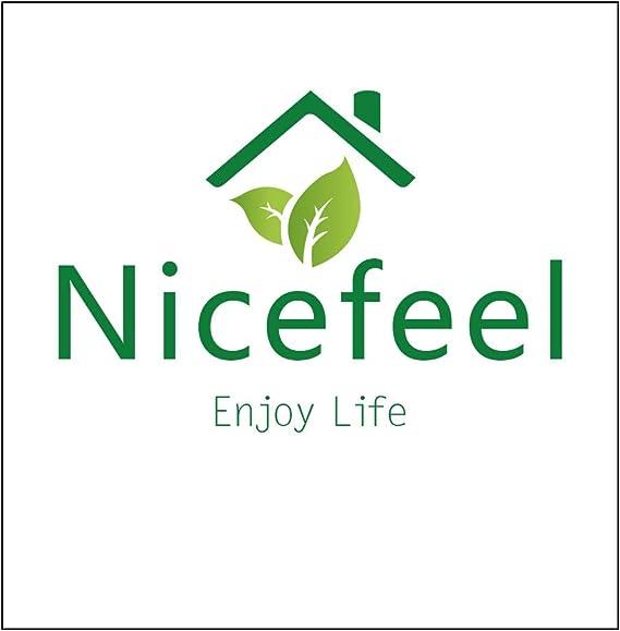 per la casa e la cucina Nicefeel in acciaio inox Affettatrice per ananas 3 in 1 con lama affilata per anelli di frutta a dadini