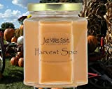 Harvest Spice (Compare to Yankee Candle) Scented Blended Soy Candle | Fall Fragrance Candles | Hand Poured in the USA by Just Makes Scents