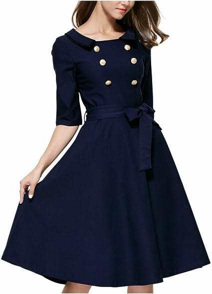 RoseGal - vestido de cóctel estilo vintage años 50 con falda A ...