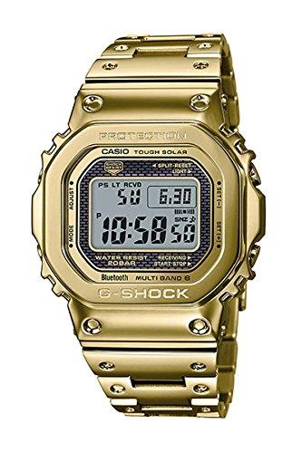 Reloj Casio G-Shock edición Limitada, 35º Aniversario, Dorado en Oro Amarillo, Ref. GMW-B5000TFG-9ER.: Amazon.es: Relojes