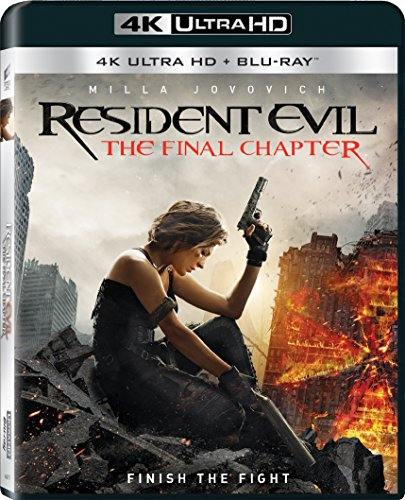 4K Blu-ray : Resident Evil: The Final Chapter (With Blu-Ray, 3 Dimensional, 3 Disc)