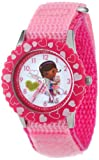 Disney Kids' W000910 ''Doc McStuffins'' Stainless Steel Time Teacher Watch