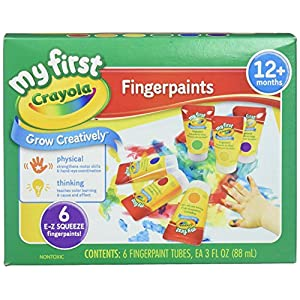 Crayola 81-1429 Finger Paint Washable