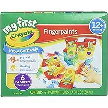 Crayola 81-1429 Finger Paint Washable