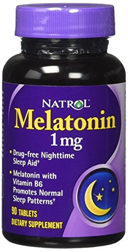 Amazon.com: Natrol Melatonin 1 Mg Time Release (1x90 TAB): Health & Personal Care