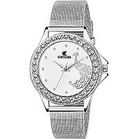 Kroger Princess Lovely Morni Analog White Dial Women & Girl's Wrist Watch (KRL1140)
