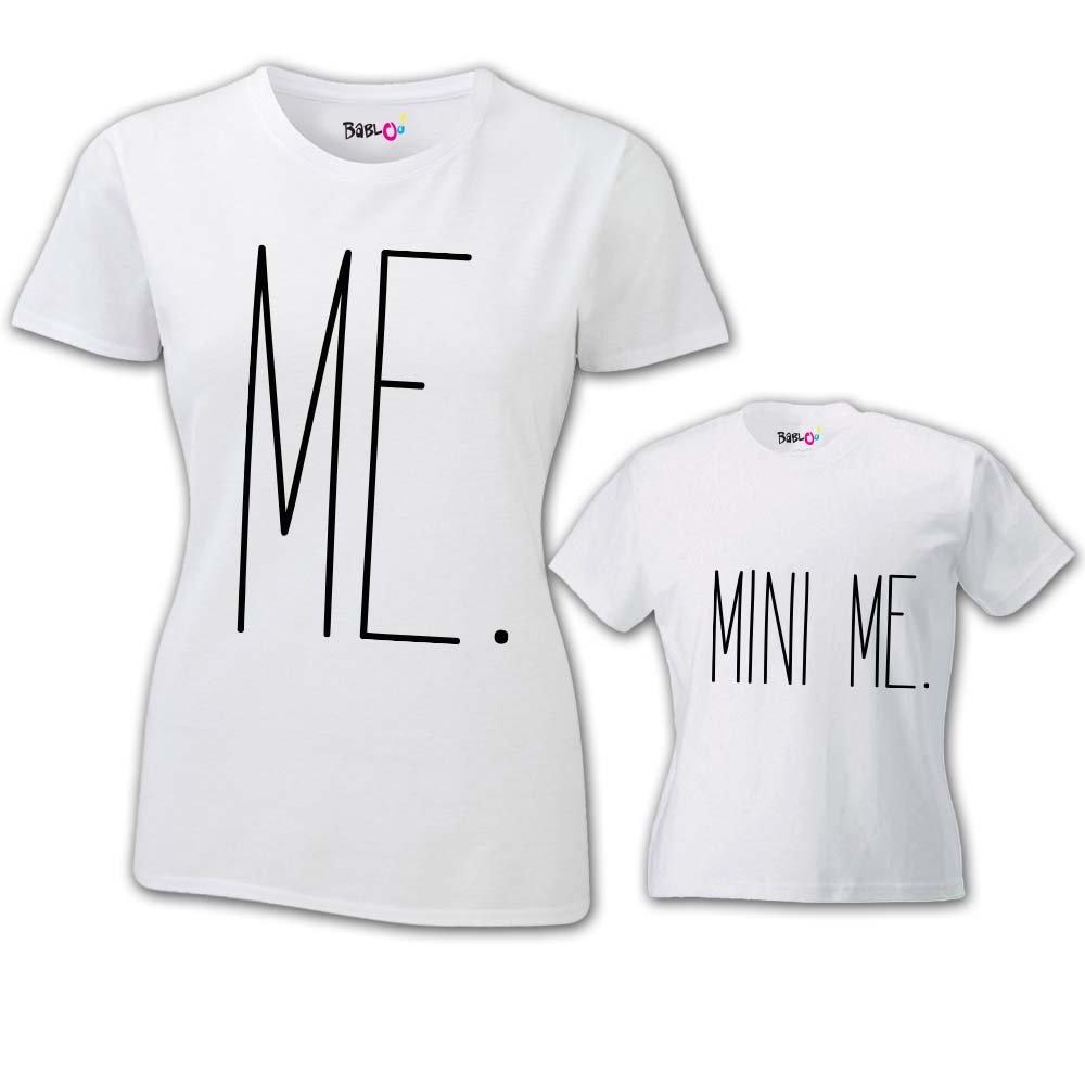 Coppia di T Shirt Donna Bambino Festa della Mamma Me And Mini Me