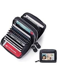 [Patrocinado] Cartera de piel para mujer con bloqueo de lector RFID - Protección ideal para tarjetas de crédito