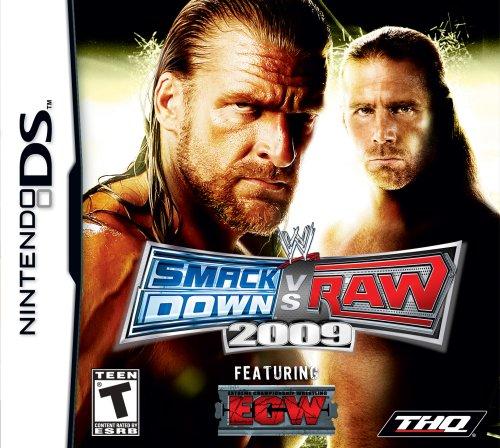 THQ WWE SmackDown vs. Raw 2009 - Nintendo DS