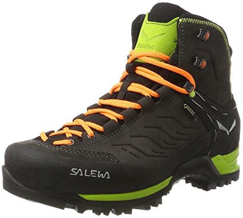 Salewa Herren MS MTN Trainer Mid GTX Trekking-& Wanderstiefel Mehrfarbig (Black/Sulphur Spring)